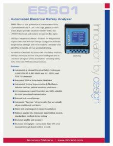 ES601 Plus Product Datasheet