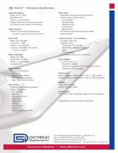 vPad-O2 Product Datasheet