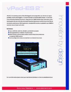 vPad-ES 2 Product Datasheet