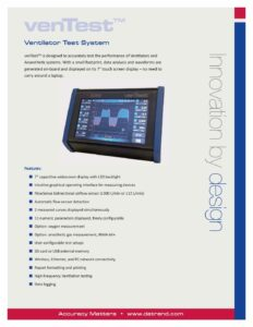 venTest Product Datasheet