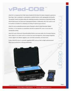 vPad-CO2 Product Datasheet